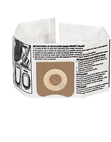 RIDGID 23738 VF3501 Wet Dry Vac High-Efficiency Dust Bags, Wet Dry Vacuum Filter