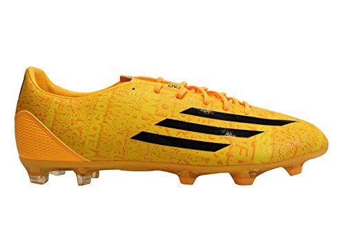 Adidas F30 FG (Messi) - Scarpe da calcio - Sogold/Black/Black