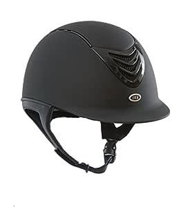 IRH 4G Helmet with Interchangable Comfort/Sizing Liners, Unisex, 331016, Matte Black, Medium (6 7/8-7)