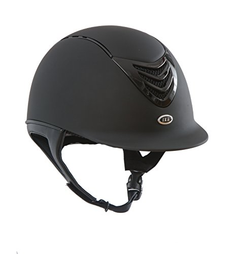 IRH 4G Helmet with Interchangeable Comfort/Sizing Liners, Matte Black, Medium (6 7/8 - 7)