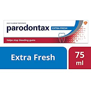 Parodontax Extra Fresh Toothpaste for Bleeding Gums, 75ml