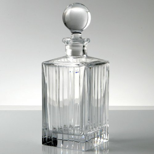 Rogaska Avenue Square Decanter by Rogaska