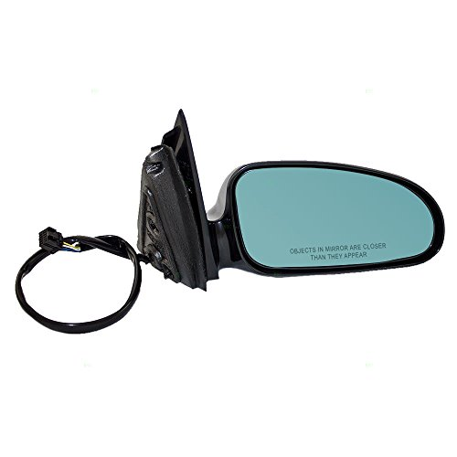 Passengers Power Side View Mirror Heated Memory Blue Tinted Glass Replacement for Pontiac Bonneville - Mirror Bonneville Glass Pontiac