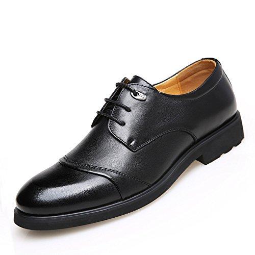 WZG Otoño zapatos de vestir de negocio de los nuevos hombres de 48 yardas zapatos casuales zapatos de gran tamaño de los hombres de los hombres zapatos de trabajo black bars