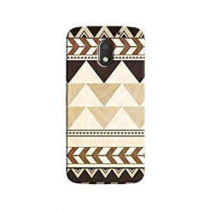 Cover It Up - African Trimmings Moto E3Hard Case