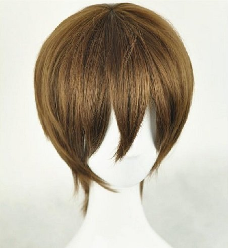 XCOSER Yagami Light Wig Death Note Yagami Light Cosplay Anime Wig