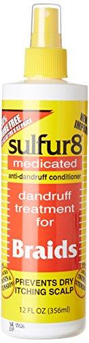 Sulfur 8 Dandruff Treatment For Braids 12 oz. Spray