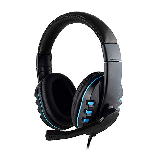 Duquanxinquan gaming headset for PS4 PCs Xbox One, HI-FI audio quality wired Crystal Clarity Sound Professional…