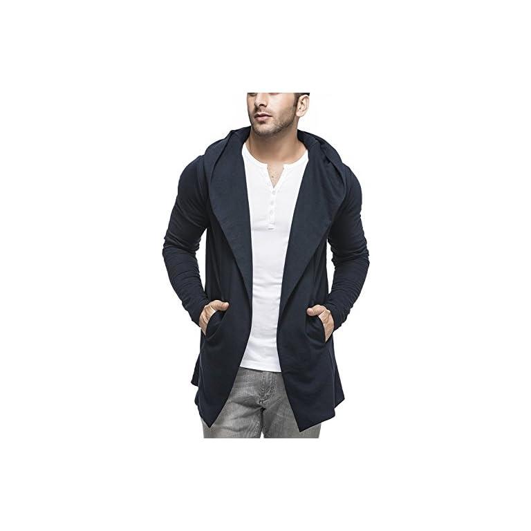 41gjRNRXYrL. SS768  - Tinted Men's Cotton Blend Cardigan