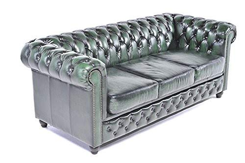 The Chesterfield Brand -Sofá Chester Brighton Verde Gastado ...