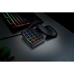 Razer Tartarus v2 Gaming Keypad: Mecha-Membrane Key Switches – 32 Programmable Keys – Customizable Chroma RGB Lighting – Programmable Macros – Classic Black