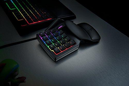 Razer Orbweaver Chroma – Elite RGB Mechanical Switches Gaming Keypad – Adjustable Hand, Thumb and Palm-Rest