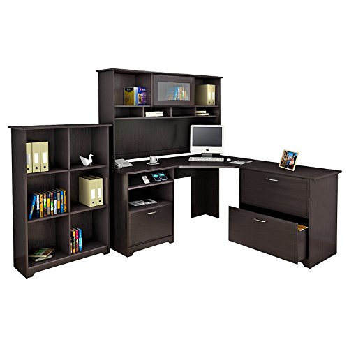 Cabot Corner Lateral Cabinet Bookcase