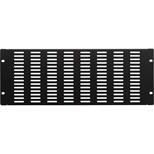 Rackmount Vent Panel - NavePoint 4U Blank Rack Mount Panel IT Server Network Spacer Slotted Venting