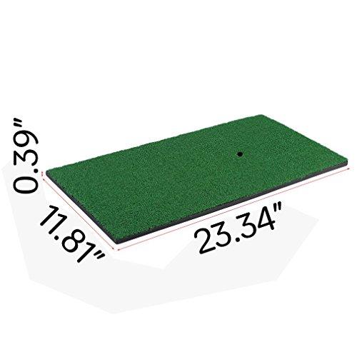 """Golf Putting Mat Launch Pad Golf Practice Mat, 12""""x24"""