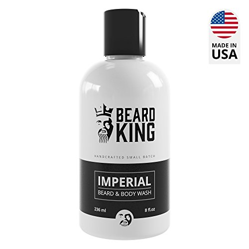 Imperial Oil (BEARD KING - Beard & Body Wash - Imperial - 100% Natural, Moisturizing Wash for Men, Delivers Nutrients & Vitamins to Nourish Facial Hair and Promote Growth, Made in USA - 8 oz. (Imperial))