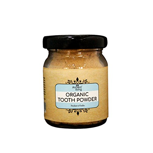 Ancient Living Organic Tooth Powder for Healthy gums (Set of 3)