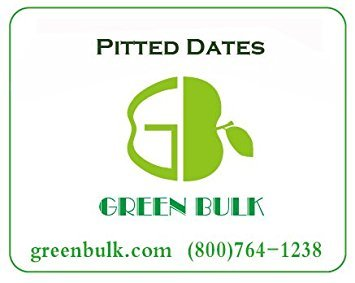 Dried Pitted Dates, 3 LB bag by Green Bulk