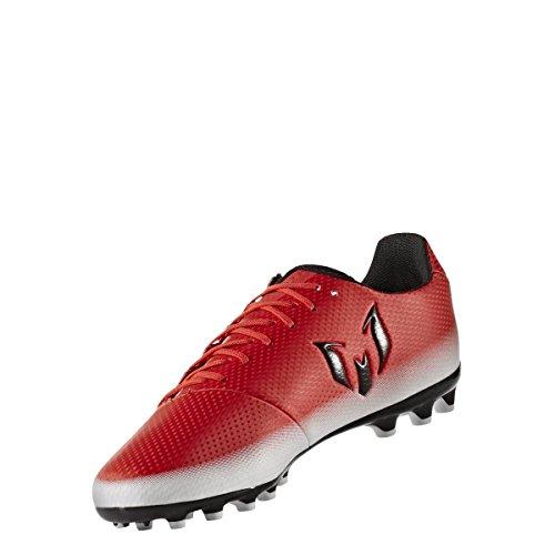adidas Messi 16.3 Ag, Zapatillas de Fútbol para Niños rouge/noir/blanc