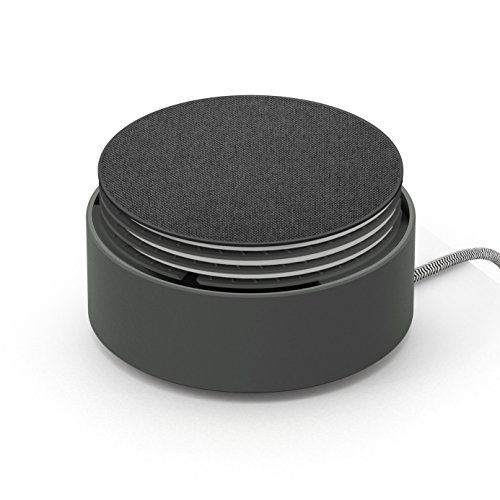 Native Union Eclipse - 3 Port USB Charger (Including One USB-C Port) with Cable Management - Fast, Multi-Device Charging with Touch Sensor and Light (Slate)