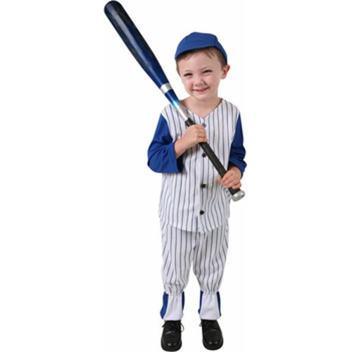 Baseball Player Costume Girl (Child Baseball Player Costume Size: Small 4-6)