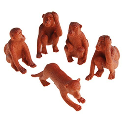 (Lot Of 12 Assorted Monkey Design Toy)