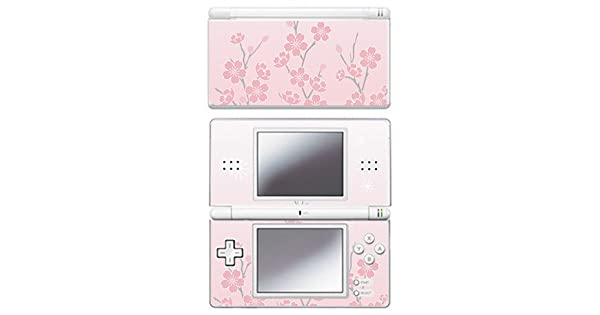 Amazon.com: Pink Cherry Blossom Skin for Nintendo DS Lite ...