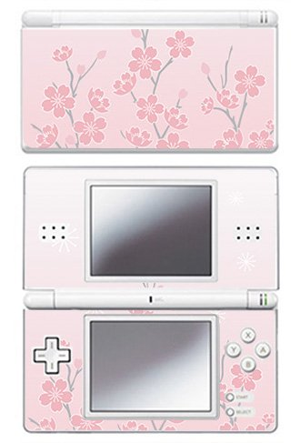 - Pink Cherry Blossom Skin for Nintendo DS Lite Console