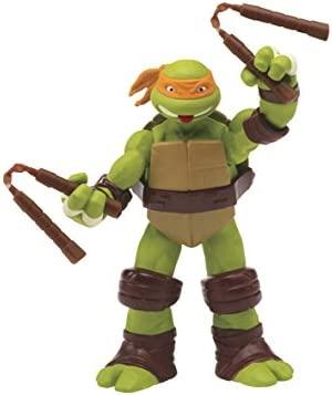 Teenage Mutant Ninja Turtles Figura de acción de Mikey con ...