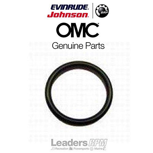 Omc Johnson Stern Drive - Johnson Evinrude OMC New OEM Black Rubber O-Ring, Stern Drive Motors, 3856537