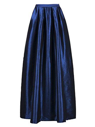 Persun Womens Elegant Pleated Formal