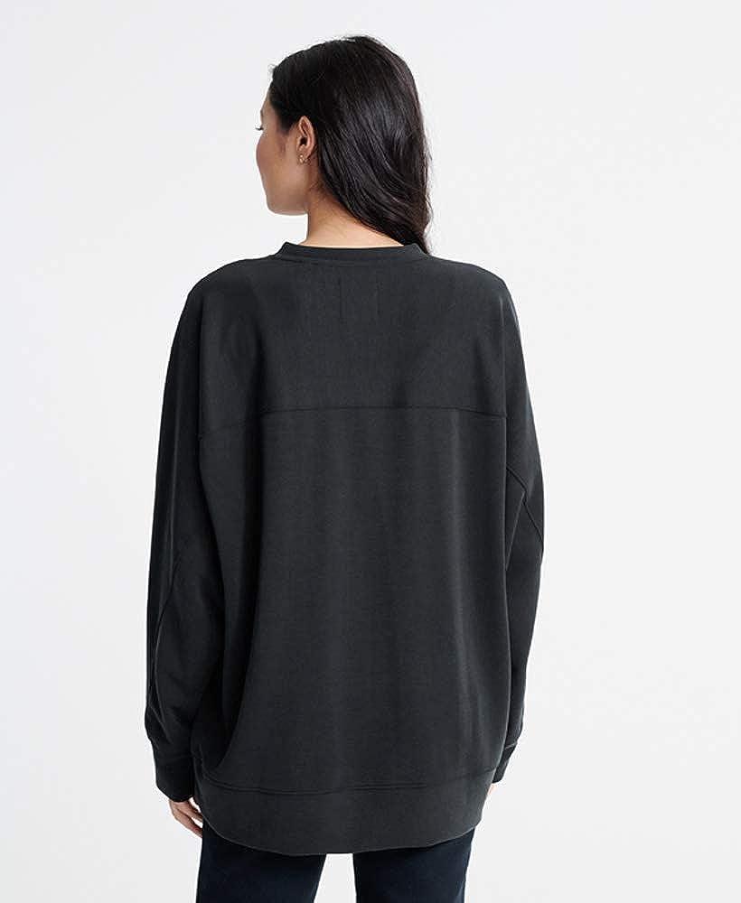 Superdry Womens Edit Raglan Loopback Sweatshirt
