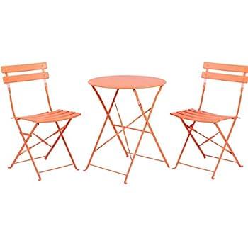 Grand Patio Premium Steel Patio Bistro Set, Folding Outdoor Patio Furniture  Sets, 3 Piece