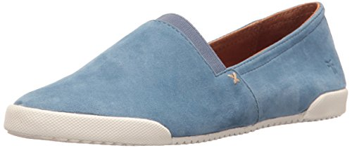 (FRYE Women's Melanie Slip ON Fashion Sneaker Aqua 9.5 M US)