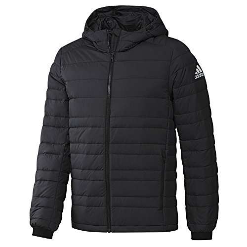 Pro Fleece Sherpa Jacket - adidas outdoor Mens Climawarm Nuvic Jacket (M - Black/White)