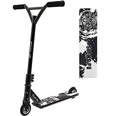Joeoy Clothink Pro Beginner Stunt Scooter for Adults Teens, 360° Rotate 100mm Aluminium Core Wheels & ABEC-9 Trick Scooters, Entry Level Quality Freestyle Kick Scooter for Kids 8 Years and Up: Sports & Outdoors