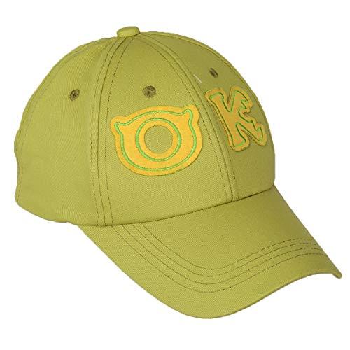 Mike Wazowski Cap Monsters University Cosplay Hat Oozma Kappa Baseball Cap for Teens]()