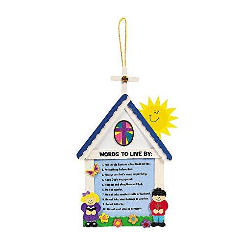 (Oriental Trading 10 Commandments For Kids Craft Kit)