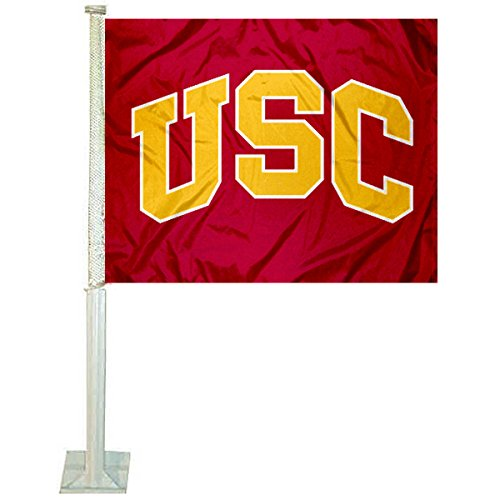 (Southern Cal USC Trojans Arch USC Car and Auto Flag)