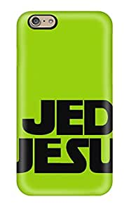 High Quality Durability Case For Iphone 6 Jedi Jesus Funny Green