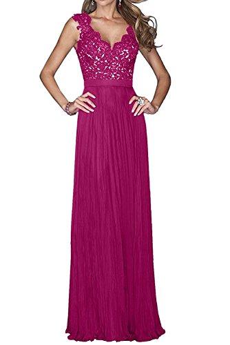 Fuchsia Royal Lang Braut Linie Abschlussballkleider Promkleider Brautmutterkleider mia Rock Damen La Abendkleider Blau A Spitze 6E1AnqH