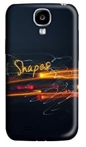 Light Shapes Polycarbonate Hard Case Cover for Samsung Galaxy S4/Samsung Galaxy I9500 3D