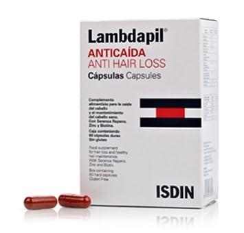 Lambdapil Anticaída Cápsulas, 60 Un. - Isdin Skin Capital