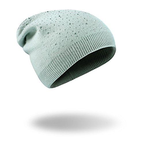 MASTER Navidad Halloween PAC rojo gorras MS beanie tejidas cálido Hat Light sombreros vino Green Invierno rwrq75Zd