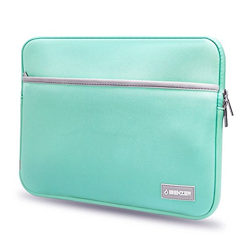 ibenzer-neoprene-protective-laptop-sleeve-bag-with-accessory-pocket-for-13-inch-laptops-turquoise-us