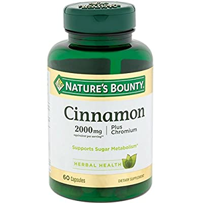 Nature's Bounty Cinnamon 2000