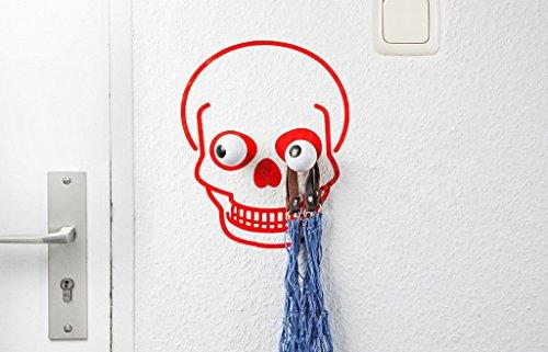 Donkey Coat - Funky Wall Hook Skull Hookly & Coat Hanger Kids Room Mud Room Organizer