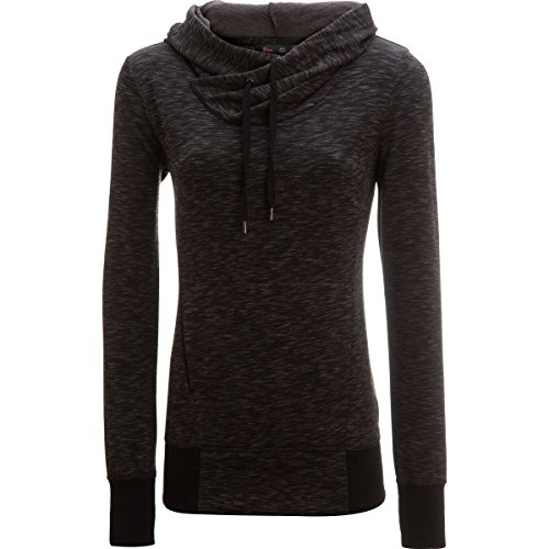 Stoic Heather Fleece Pullover Sweatshirt - Women's Charcoal, (Fleece Pullover Charcoal)