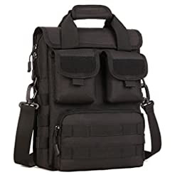 Tactical Briefcase Military Laptop Messe...