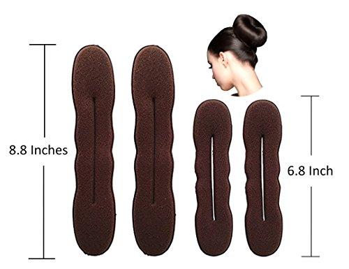 brown hair bun maker - 5